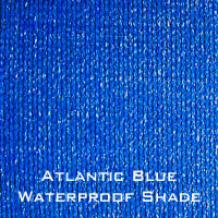 atlantic Blue waterproof shade